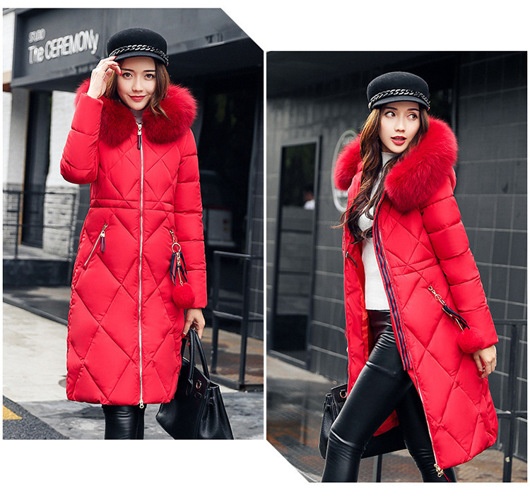 women down coat with hood (2)