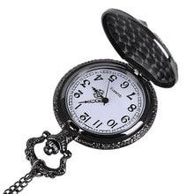 1pcs Necklace Bronze Pendant Men Women Vintage Chain Clock Russia Emblem Communism  Soviet Badges Sickle Hammer Pocket Watch
