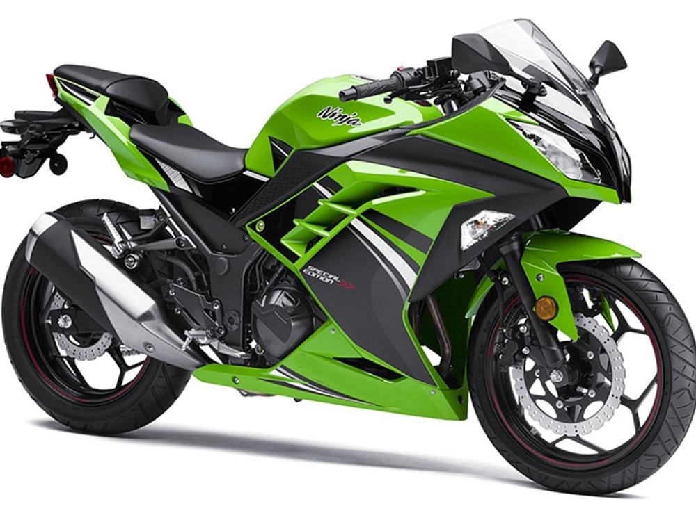 все цены на For kawasaki NINJA 300 ZX300 2013-2015 ZX300R Injection Moiding ABS Plastic motorcycle Fairing Kit Bodywork  NINJA300 13-15 CB04