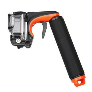 Image 3 - Tekcam Stabilisator Abschnitt Pistole Trigger Set Schwimm Griff Handheld Monopod Für Gopro hero 5/6/7 Gopro Hero 5 Hero 6 Zubehör