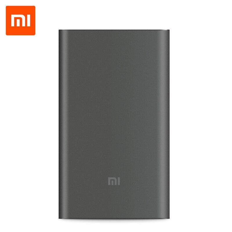 imágenes para Xiaomi Banco de la Energía 10000 mAh Pro Cargador Rápido Max 18 W de Entrada/Salida: 12 V/1.5A; 9 V/2A; 5 V/2A QC2.0 Cargador Rápido
