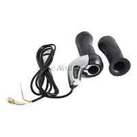 24 V Electric Bicycle Throttle Twist Grip With LED Battery Indicator