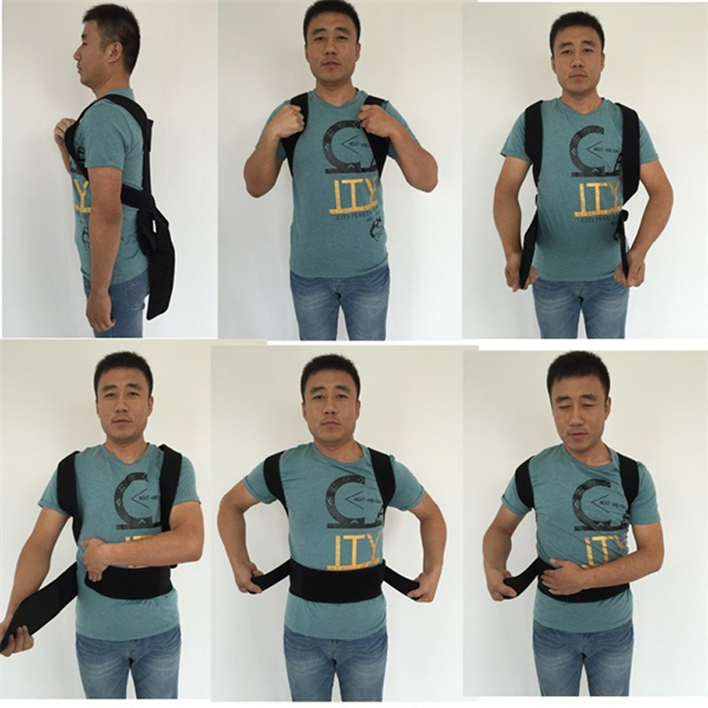 Adjustable Posture Corset for Men Lumbar Support Belt Strap Men's Back Back Corset Brace Belt HEALTH CARE Orthopedic Pain Relief 1