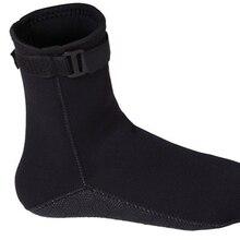 1 пара Гидрокостюмов одежда для плавания Дайвинг носки неопрен 3 мм неопрен противоскользящие Водные Носки ZJ55
