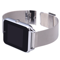 2017 New Steel Smart Watch Android Support SIM TF Card For Xiaomi Huawei Bluetooth Connectivity Smartwatch