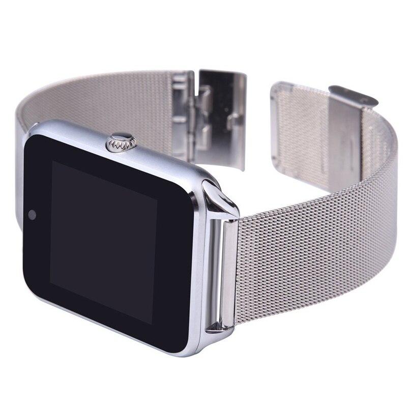 2017 neue Stahl Smart Uhr Android Unterstützung SIM TF Karte Für Xiaomi Huawei Bluetooth-konnektivität Smartwatch Sport Armbanduhr