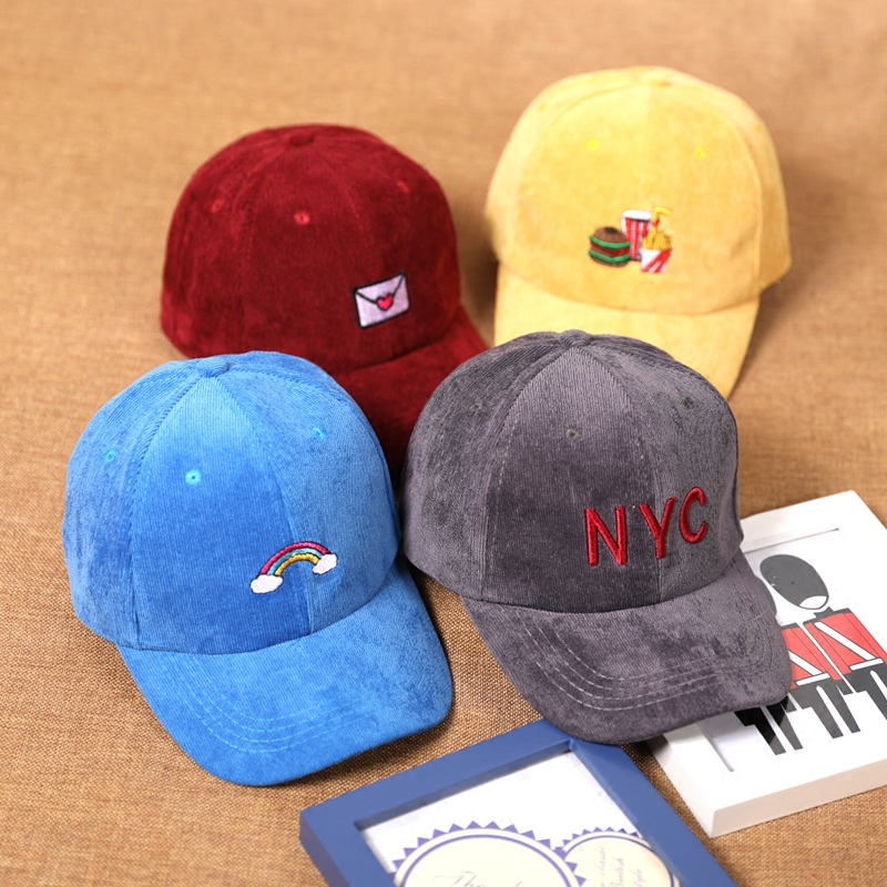 2017 Fruit embroidery Snapback Caps 2 9 year child Hat Caps Children Baseball Caps For Boys
