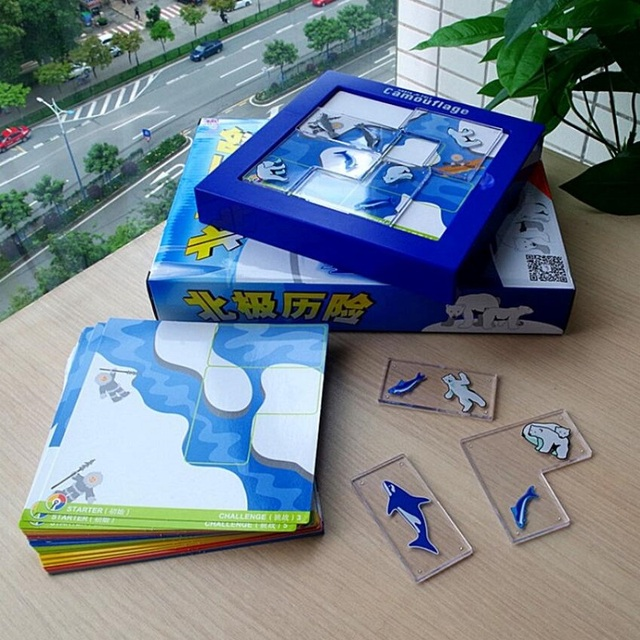 895a753245d Arctic Adventure Mission Maze Logic Thinking Training Invigorating Toys  Parent-child Interaction game Family Party Game