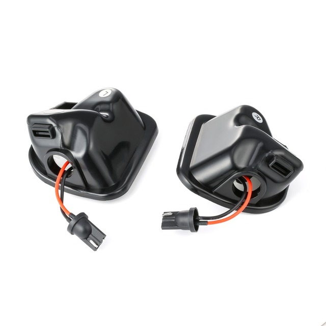 2Pcs Canbus LED Side Mirror Puddle Lights Lamp for VW Volkswagen Jetta 10-15/EOS 09-11/Passat B7 2010~/CC 09-12/Scirocco 09-14