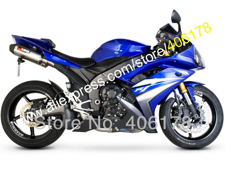 Hot Sales,YZF R1 2007 2008 blue Body Kit for Yamaha YZF 1000 08 07 YZF R1 YZF-R1 YZFR1 2008 2007 Fairing (Injection molding) hot sales for yamaha yzf r1 2007 2008 accessories yzf r1 07 08 yzf1000 black aftermarket sportbike fairing injection molding