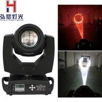 Hongyi/Stage Освещение 1 шт./лот балка 200 Вт 5R Moving головной свет/балка 5R балка 200 DMX Луч DJ огни