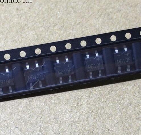 Bridge Diode MB10F 1A 1000V CMS SOP4-Set of 10