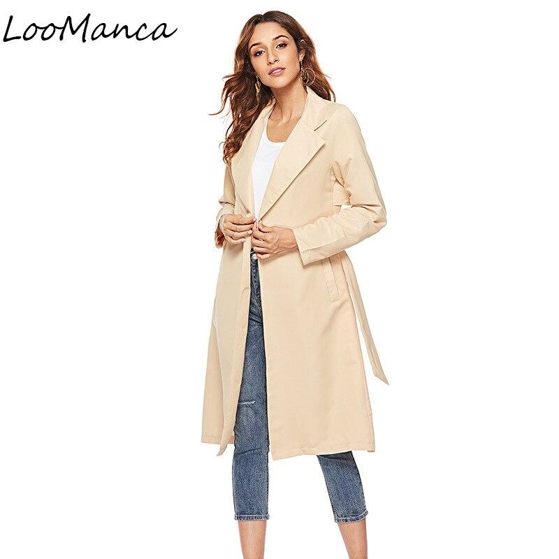 long   jackets   and coats women 2018 new autumn female coat casual bomber   jacket   women Windbreaker   basic     jackets   plus size