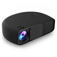 Оригинальный HD Портативный проектор 3000 люмен Поддержка 1080 P видео игры Проектор для домашнего кинотеатра фильм проектор с Встроенный динам