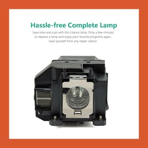 Image 3 - Projector lamp for EH TW480/EB S02H/EB W16/H429A/H431A/H432A/H433A/H435B/H435C/H436A/VS310/VS315W/EX3212/EX6210/H428A/H518A