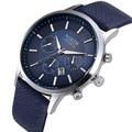 NORTH Watch Men Sports Watches Luxury Fashion Genuine Leather Men's Watch Male Business Watch montre homme relogio masculino