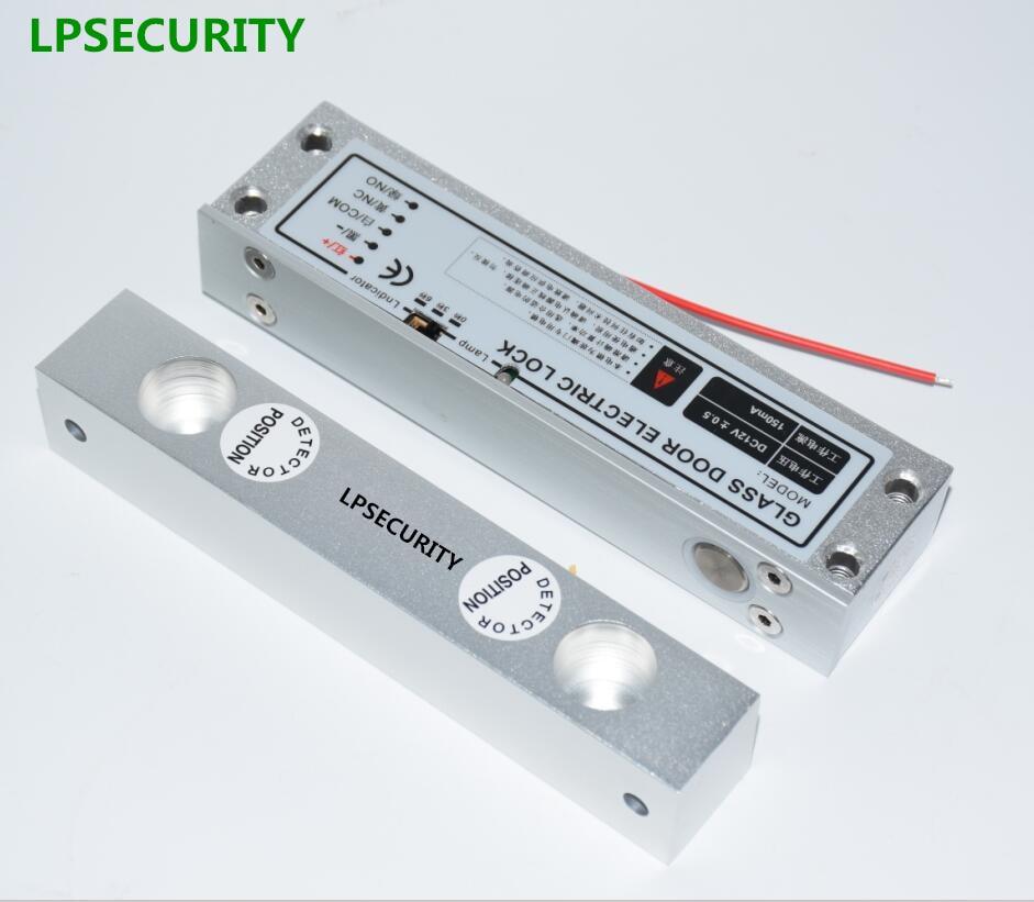 LPSECURITY Elektrische Einsteckschloss DC 12 v Fail Safe Elektrische Drop-riegelschloss für Tür Access Control Security Lock Türen System