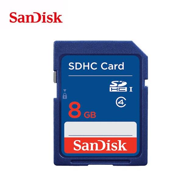 SanDisk SD Card 8GB 16GB compact flash Class 4 cartao de memoria sdhc sdxc C4 tarjeta