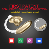 Aminy UFO Sports Wireless Bluetooth Earphones Voice Activated 4 0 Latest True Stereo Music Headphones 4Color
