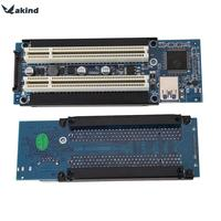 High Quality PCI E Express X1 To Dual PCI Riser Extend Adapter Card With 1M USB3