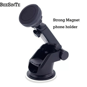 Image 1 - Magnetic Car phone holder cell phone Bracket universal 360 Air Mount in Car for iPhone Samsung on Xiaomi Redmi Huawei Universal