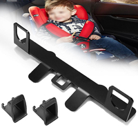 General Car ISOFIX Latch Connector Interfaces Bracket For Child Safety Seat New Seat Belt Buckle Bracket Guide Stand Holder 33cm