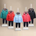 new baby down coat ski suit winter jacket for girls and boys infant overcoat mon warm90%white duck down children clothes outwear
