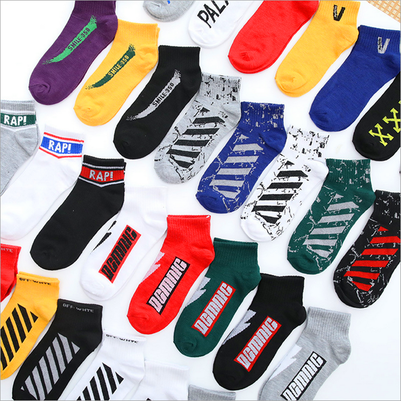 1Pair  Unisex Comfortable Dot Cotton Socks Woman Slippers Short Ankle Socks In 5 Colour High Quality New Fashion 2019