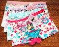 2016 nuevo bebé girls panties niños del algodón bragas de las muchachas briefs underwear historieta encantadora bragas ropa de los niños 2-8 años