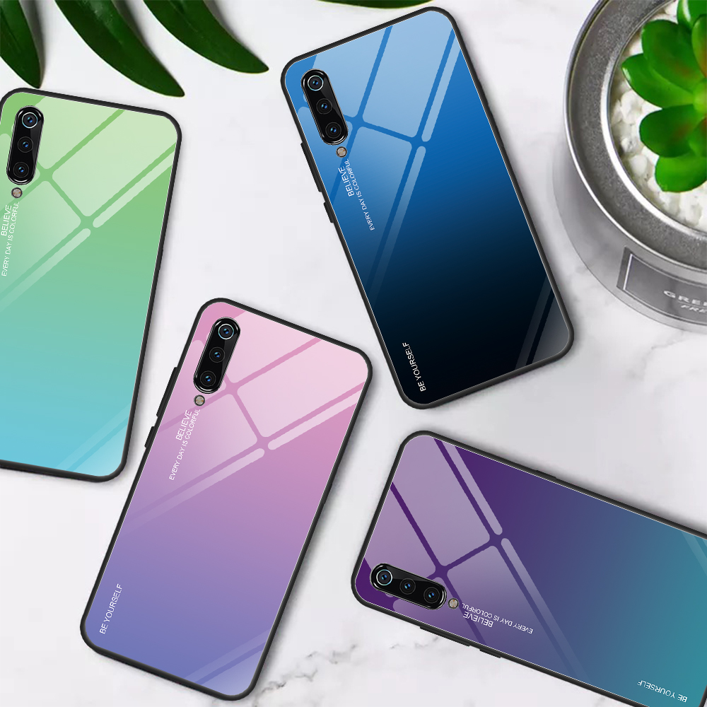 Glass Cases For <font><b>Huawei</b></font> P30 Pro P20 <font><b>Lite</b></font> P smart Plus Y9 2019 Nova 5 5i 3 3E 4 4E 2i 3i <font><b>Mate</b></font> 10 G10 <font><b>20</b></font> Pro 30 <font><b>Lite</b></font> Enjoy 7S Cover image