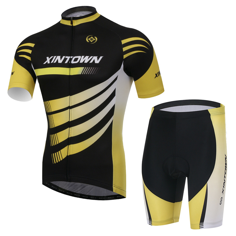 XINTOWN Cycling Jersey+Pants Riding Cycling Suits Short/Long Sleeve Summer Riding Cycling Suits
