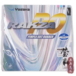 Oryginalny Yasaka RAKZA PO RK B-78 tenis stołowy guma rakietki do tenisa stołowego pryszcze się yasaka gumowa pingpong rakieta sport