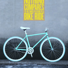 New X-Front brand fixie Bicycle Fixed gear bike 50cm DIY single speed inverter ride road bike track fixie bicycle colorful bike