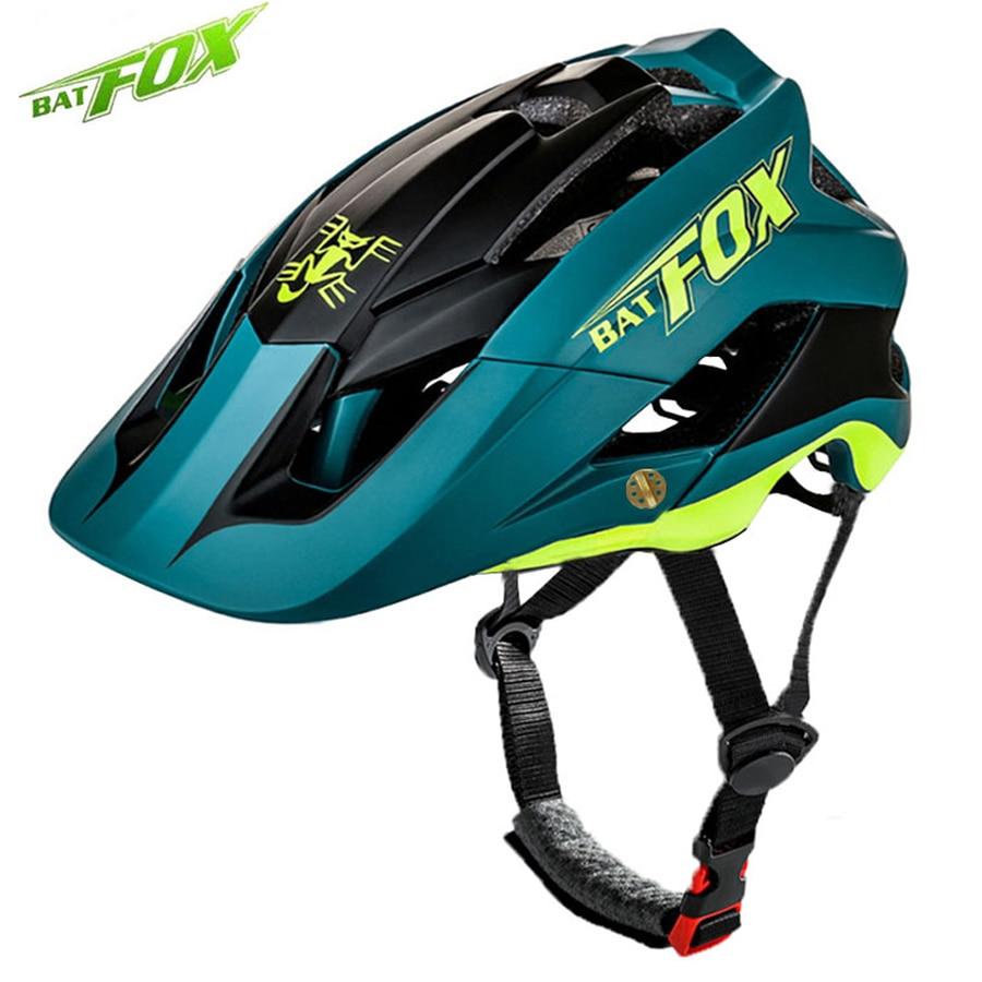 BATFOX Men Women Bicycle Helmet MTB Road Cycling Bike Sports Safety Helmet Mountain Bike Cycling Helmet