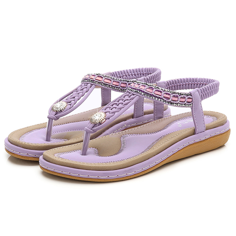 HEE-GRAND-Elastic-Band-Women-Sandals-Straw-String-Beading-Platform-Flats-Sandals-Hot-Beach-Shoes-Woman (5)