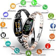 ROLLSTIMI Smart Watch Women Wristwatch Waterproof Heart Rate Monitoring Bluetooth For Android IOS Fitness Bracelet Smartwatch цена