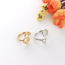 Cute Cat/Dog Paw and heart Ring