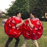 Bubble Buffer Body Bumper Balls 60CM Bubble Soccer Suits LOT Environmentally Friendly PVC Funny Body Zorb Ball For Kids