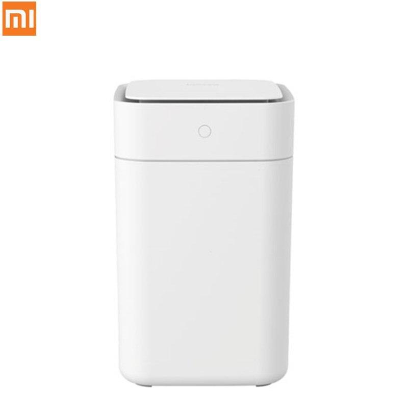 Original Xiaomi Mijia Townew Smart Trash Can T1 Motion Sensor Auto Sealing LED Induction Cover Trash 15.5L Mi Home Ashcan Bins