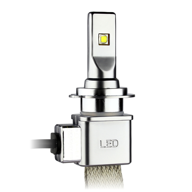 headlight decoder xhp50 30w 5000lm H/L LED Light Fog lamp  H4 H7 H8 H11 H16 9005 9006 9012