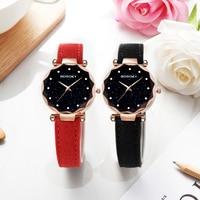 relojes mujer 2018 Luxury Brand Gogoey Women Watches Personality romantic starry sky Wrist Watch Rhinestone Design Ladies Clock 2