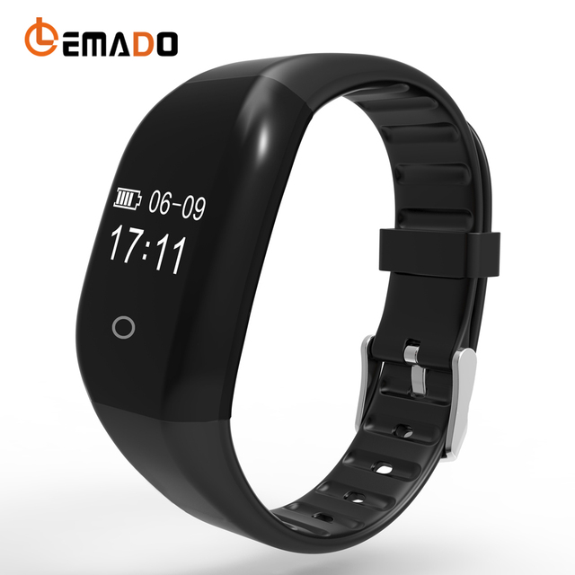 608HR Wristband Fitness Bracelet Calorie Counting Wrist Band Heart Rate Pedometer Smart Bracelet IP67 Smart Band PK Mi Band 2