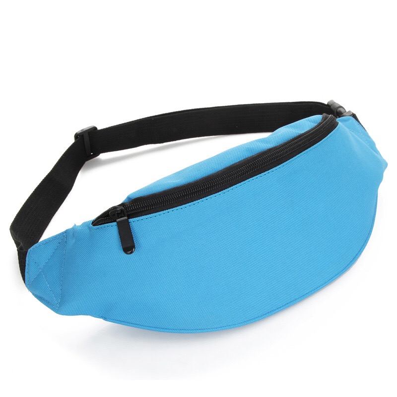 Bum Bag Fanny Pack Pouch Travel Festival Waist Belt Leather Holiday Money Men Male Casual Functional Fanny Bag Gray Black 1521