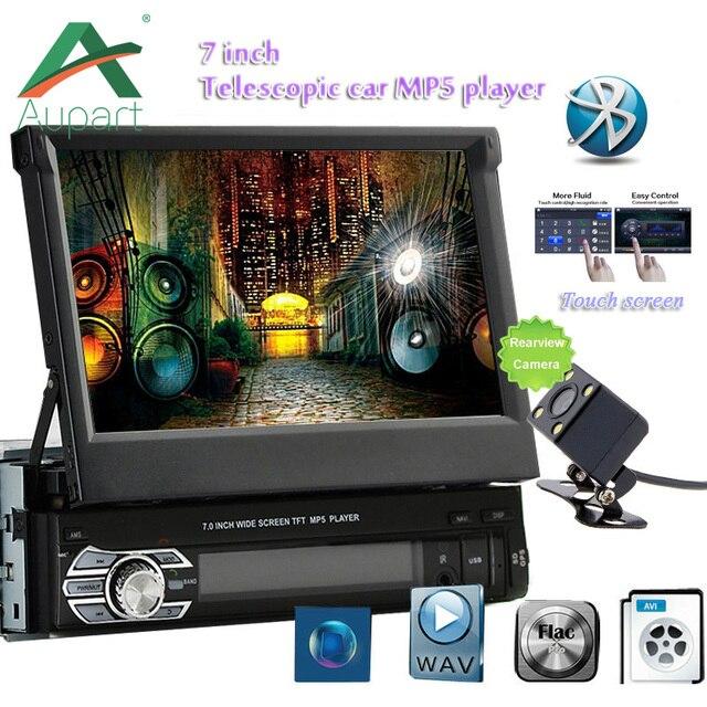 HD 7 zoll Versenkbare Touchscreen 1 DIN Stereo Auto auto Radio MP5 ...