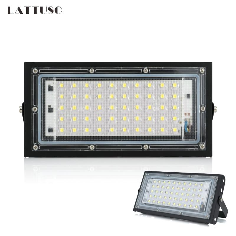 LED Flood Light AC 220V 230V 240V Perfect Power Floodlight LED Street Lamp 50W Waterproof Landscape Lighting IP65 Led Spotlight