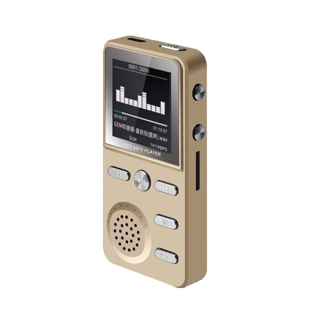 E3493-Metal MP3 Player-gold