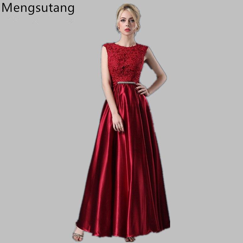 Robe de soirée 2018 a-ligne dentelle épaule dénudée Robe de soirée longue vestito da sera vestido de noche fête robes de bal 7 couleurs