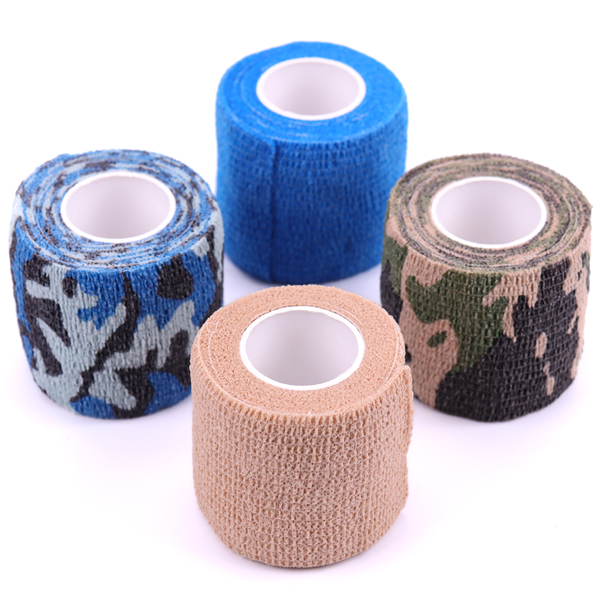 5cm*4.5m Elastic Self Adhesive Medical Bandage Ankle Finger Muscles Care Non-woven Fabrics Wrist Suppor Health Care