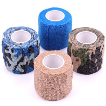 Vendaje médico autoadhesivo elástico de 5cm x 4,5 m para el cuidado de los músculos dedos del tobillo telas no tejidas para el cuidado de la salud