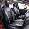 Cuero de LA PU cubre para renault megane CC fundas para asientos de coches accesorios de ajuste Personalizado cojín del asiento de coche compatible con cubiertas